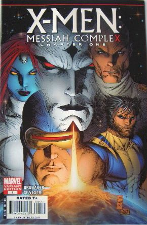 X-Men Messiah Complex #1 Silvestri Variant Marvel Comics US Import